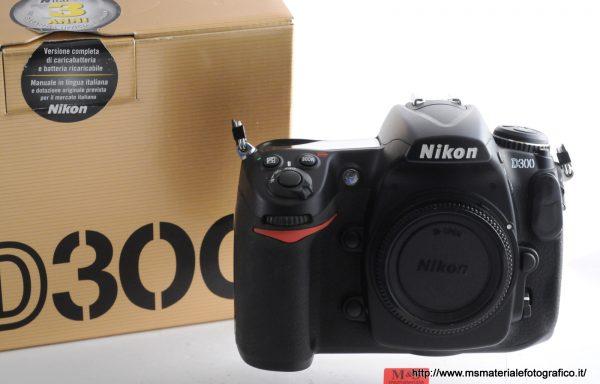 Fotocamera Nikon D300 (8010 scatti)