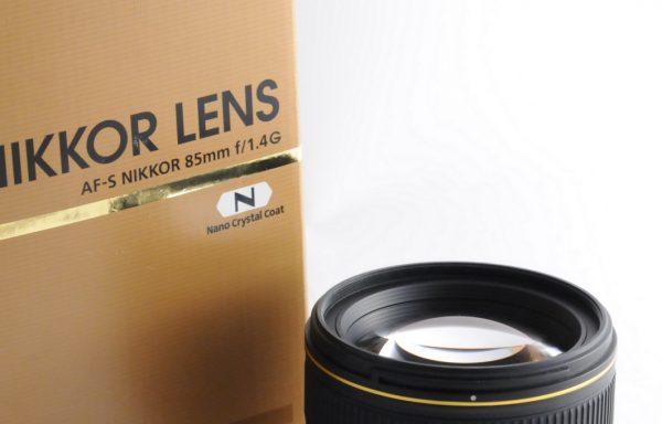 Obiettivo Nikkor AF-S 85mm f/1,4 G