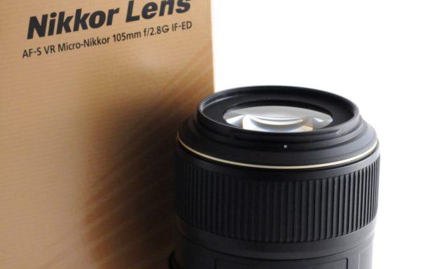 Obiettivo AF-S VR Micro-Nikkor 105mm f/2,8 G IF-ED