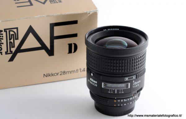 Obiettivo Nikkor AF 28mm f/1,4 D