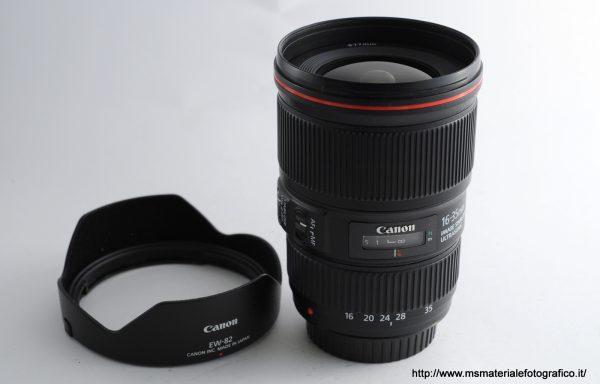 Obiettivo Canon EF 16-35mm f/4 L IS USM