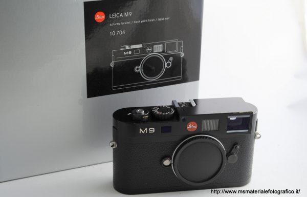 Fotocamera Leica M9 Black (sensore sostituito)