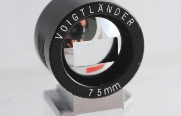 Voigtlander Viewfinder 75mm