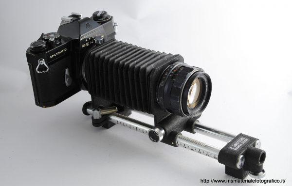 Kit Pentax Spotmatic SP II+ Pentax Bellows II + Obiettivo Super-Takumar 50mm f/1,4