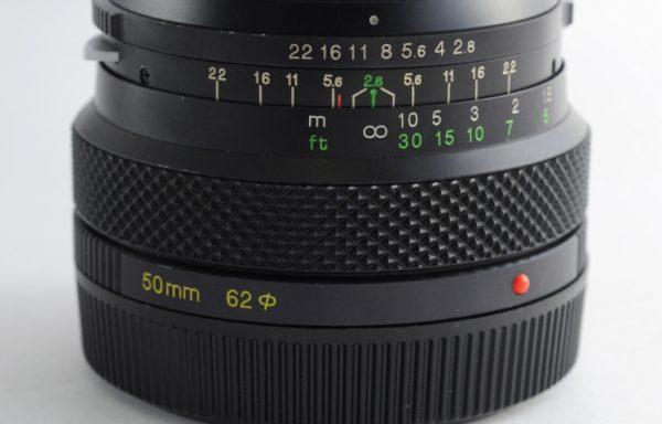Obiettivo Zenza Bronica 50mm f/2,8