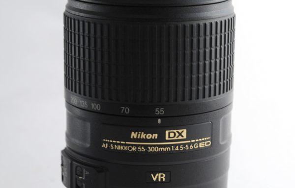 Obiettivo Nikkor AF-S 55-300mm f/4,5-5,6 G ED DX