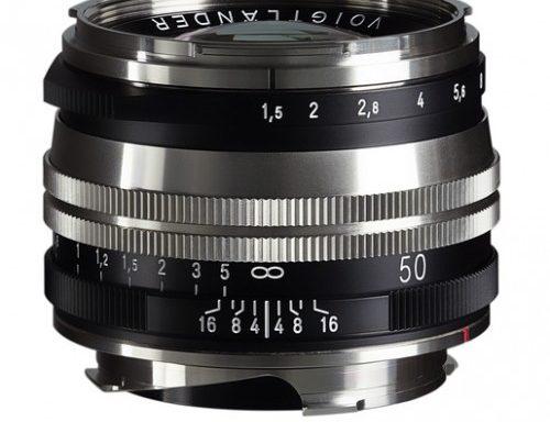 Obiettivo Voigtlander 50mm f/1,5 Nokton S.C. II VM (Bicolor)