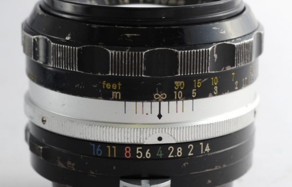 Obiettivo Nikkor-SC 50mm f/1,4