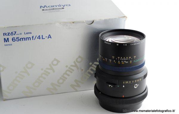 Obiettivo Mamiya M 65mm f/4 L-A