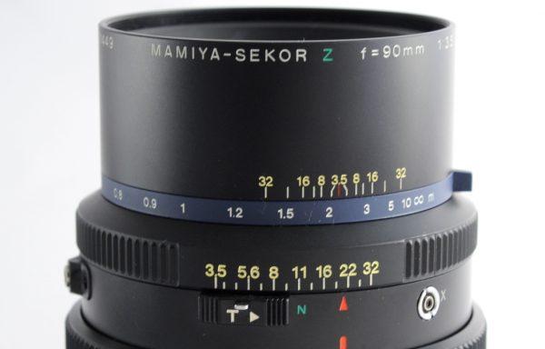 Obiettivo Mamiya-Sekor Z 90mm f/3,5 W