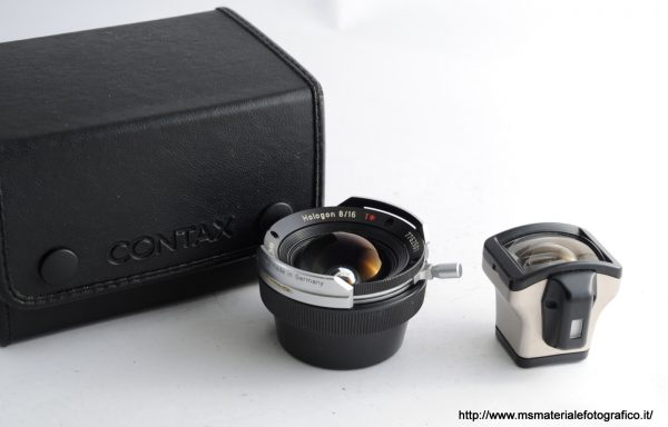 Obiettivo Contax G Hologon 16mm f/8