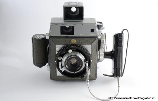 Kit Fotocamera Mamiya Press + Obiettivo Mamiya-Sekor 65mm f/6,3 + Magazzino