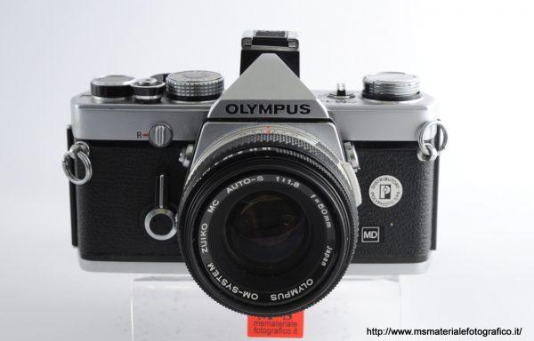 Kit Fotocamera Olympus OM-1n + Obiettivo Olympus 50mm f/1,8