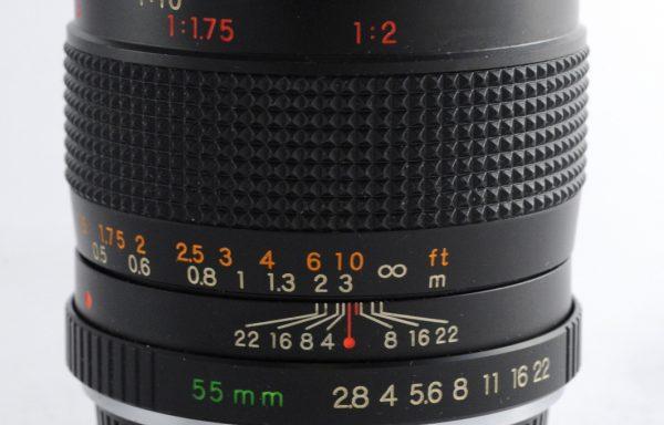 Obiettivo Yashica ML Macro 55mm f/2,8