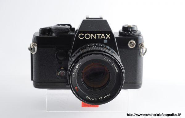 Kit Fotocamera Contax 139 Quartz + Obiettivo Zeiss Planar 50mm f/1,7