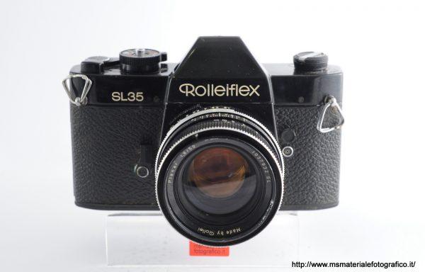 Kit Fotocamera Rolleiflex SL35 + Obiettivo Rollei Planar 50mm f/1,8