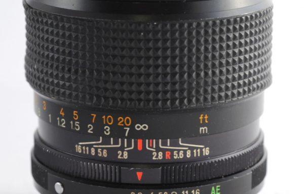 Obiettivo Konica Hexanon AR 35mm f/2,8