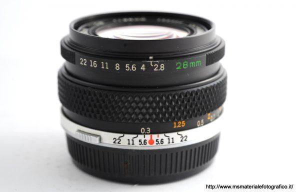 Obiettivo Olympus OM-System 28mm f/2,8