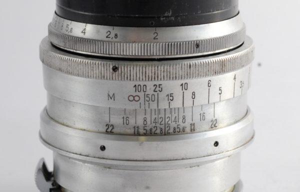 Obiettivo Jupiter-9 8,5cm f/2 attacco Contax RF