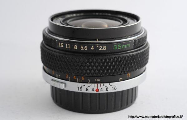 Obiettivo Olympus OM-System 35mm f/2,8