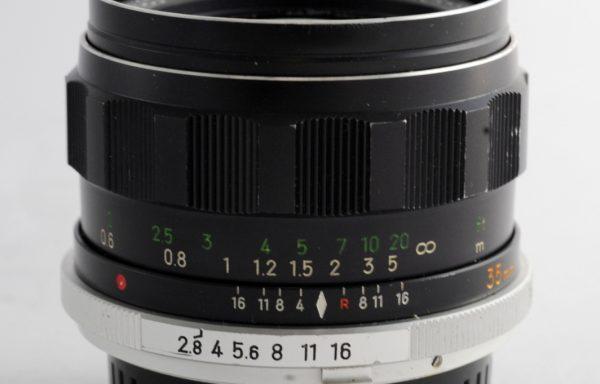 Obiettivo Minolta Rokkor-HG 35mm f/2,8