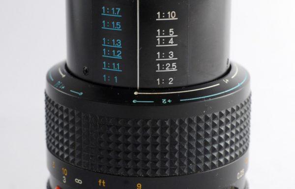 Obiettivo Minolta MD Macro 50mm f/3,5