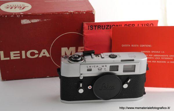 Fotocamera Leica M5 Silver 50 Jahre (1973)