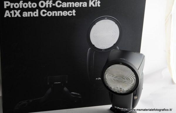 Flash Profoto Off-Camera kit A1X per Sony