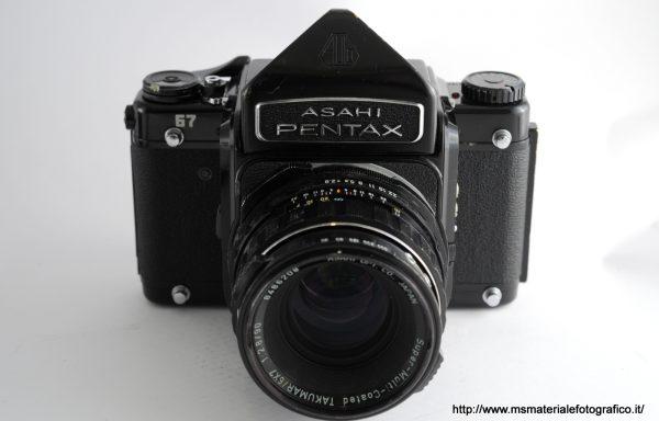 Kit Fotocamera Pentax 67 + Obiettivo Pentax 67 90mm f/2,8