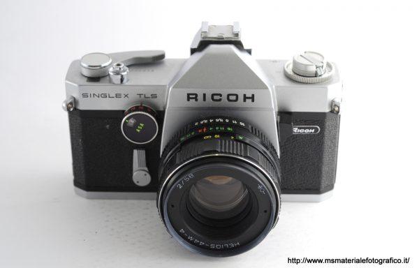Kit Fotocamera Ricoh Singlex TLS + Obiettivo Helios-44M-4 58mm f/2