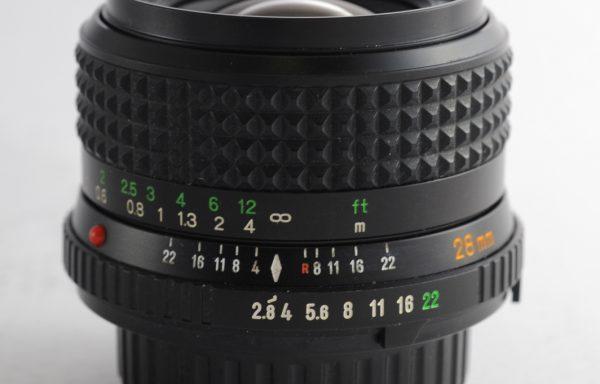 Obiettivo Minolta Rokkor 28mm f/2,8