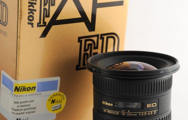 Obiettivo Nikkor AF 18-35mm f/3,5-4,5 D ED