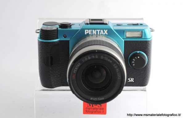 Kit Fotocamera Pentax Q10 + Obiettivo Pentax 5-15mm f/2,8-4,5
