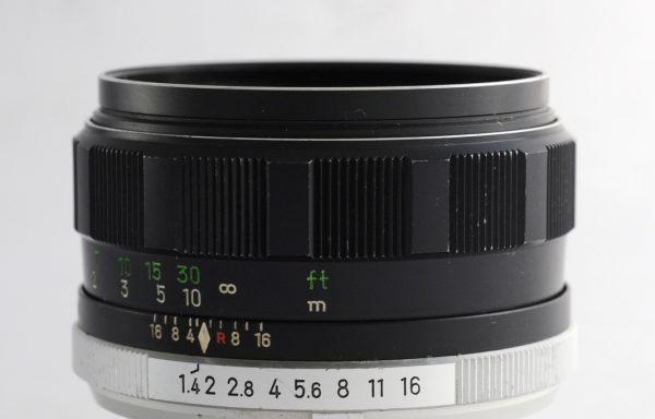 Obiettivo Minolta MC Rokkor-PF 58mm f/1,4