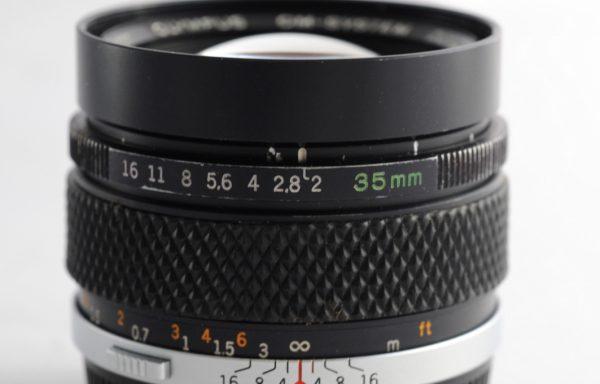Obiettivo Olympus Zuiko 35mm f/2