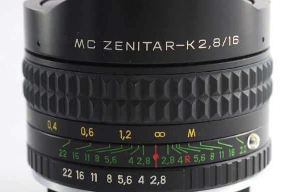 Obiettivo MC Zenitar-K 16mm f/2,8