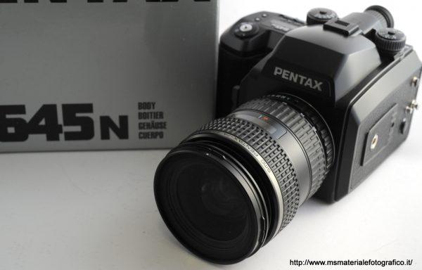 Kit Fotocamera Pentax 645N + Obiettivo Pentax-FA 645 45-85mm f/4,5