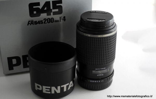 Obiettivo Pentax FA 645 200mm f/4 (IF)