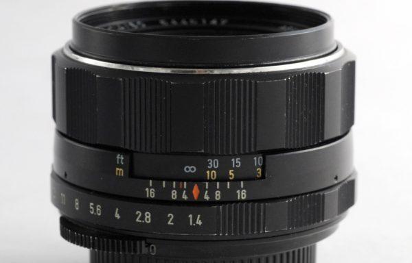Obiettivo Pentax SMC Takumar 50mm f/1,4