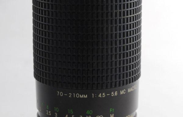 Obiettivo Super Cosina 70-210mm f/4,5-5,6 MC attacco Nikon AI