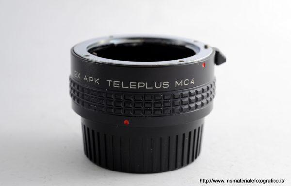 Kenko 2x APK Teleplus MC4 per Pentax