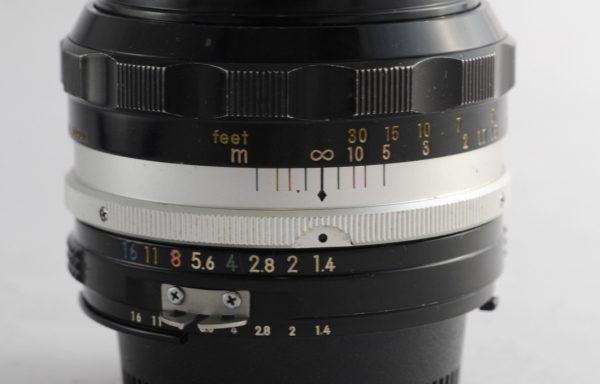 Obiettivo Nikkor-SC 50mm f/1,4 AI Factory