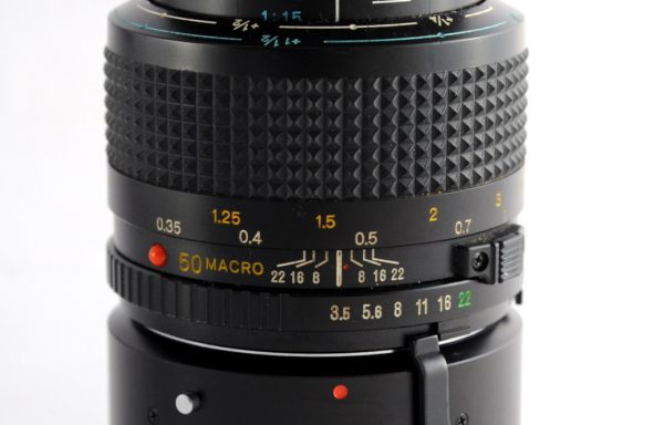 Obiettivo Minolta MD Macro 50mm f/3,5 + Tubo Minolta