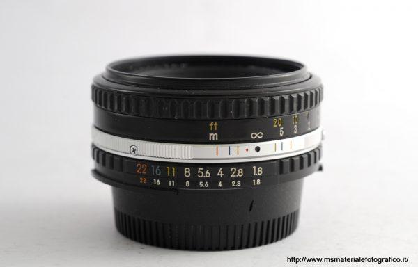 Obiettivo Nikkor Series E 50mm f/1,8