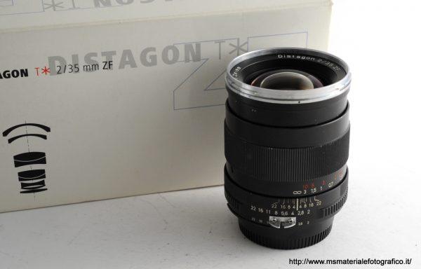 Obiettivo Zeiss Distagon 35mm f/2 ZF
