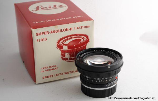 Obiettivo Leica R Super Angulon 21mm f/4