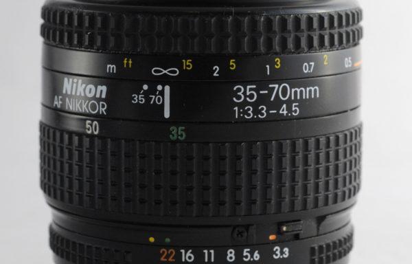 Obiettivo Nikkor AF 35-70mm f/3,3-4,5