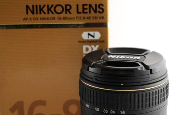 Obiettivo Nikkor AF-S DX 16-80mm f/2,8-4E ED VR