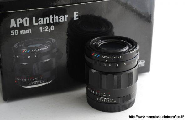 Obiettivo Voigtlander Apo Lanthar 50mm f/2 E-Mount