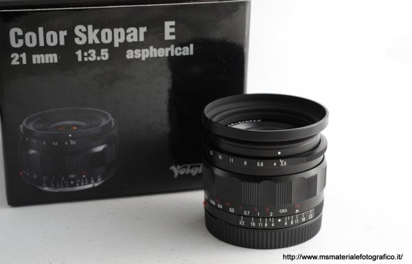 Obiettivo Voigtlander Color Skopar 21mm f/3,5 E